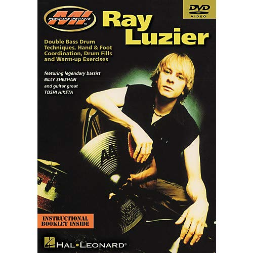 Ray Luzier - Double Bass Drum Techniques, Hand and Foot Coordination, Drum Fills and Warm Up Exercises (DVD) Pack of ()
