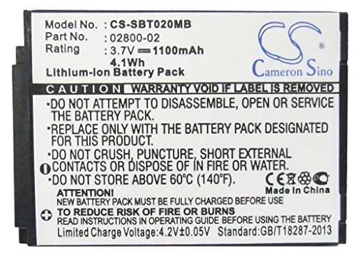 Cameron Sino 1100mAh Li-ion Rechargeable Baby Monitor Batteries Replacement for Summer 02800-02 JNS150-BB42704544 ((3.7V NIMH 1100mAh)) by Cameron Sino® (Image #5)