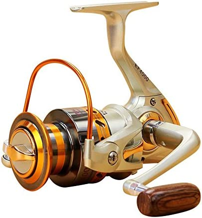 Left//Right Interchangeable Saltwater Freshwater Spinning Fishing Reel Wheel