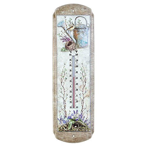 OHIO WHOLESALE, INC. Garden Birds Wall Thermometer - Indoor 5