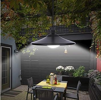 Jardin Mile Style Vintage Noir Aenergie Solaire Exterieur Jardin