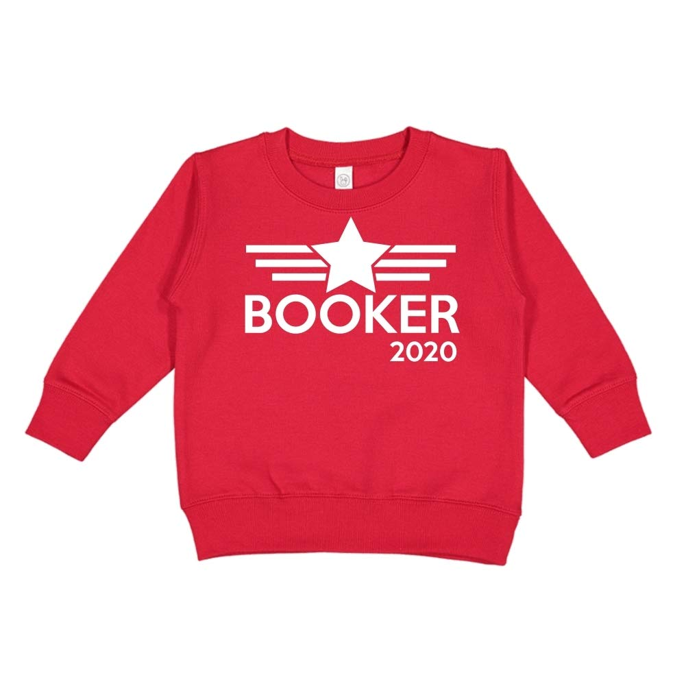Mashed Clothing Booker 2020 Presidential Election 2020 Toddler//Kids Sweatshirt