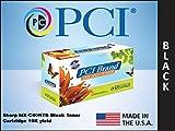 PCI SHARP MX-C40NTB 10K BLACK TONER CART