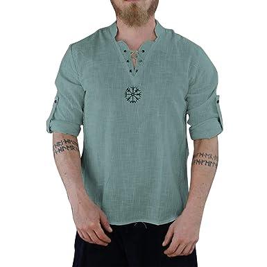 Fannyfuny camiseta Hombre Camisa Verano Camisetas Causales Polos ...