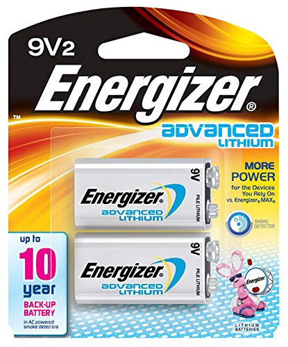 Grand Amazon.com: Energizer Advanced Lithium 9V Batteries, 2 Count: Health U0026  Personal Care