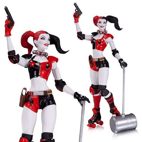 DC Comics New 52 Roller Derby Harley Quinn Action Figure by Batman