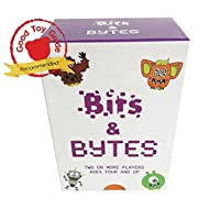 Bits and Bytes Coding Game for Kids | The innovative card game and STEM toy that teaches children the fundamentals of computer programming ● Ages 4-9 ● Fun for boys and girls and a great learning gift