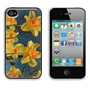 Yellow Daffodils in Field Apple iPhone 4 / 4S Snap Cover Case Premium Aluminium Customized Made to Order Support Ready 4 7/16 inch (112mm) x 2 3/8 inch (60mm) x 7/16 inch (11mm) Liil iPhone_4 4S Professional Cases Touch Accessories Graphic Covers Designed Model Folio Sleeve HD Template Wallpaper Photo Jacket Wifi 16gb 32gb 64gb Luxury Protector Wireless Cellphone Cell Phone Kimberly Kurzendoerfer