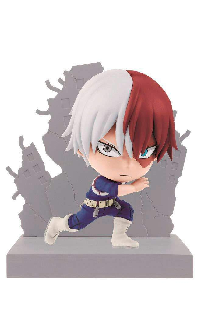 Banpresto 3296580822621 Shoto Todoroki Kyun Chara 10cm Figurine My Hero Academia
