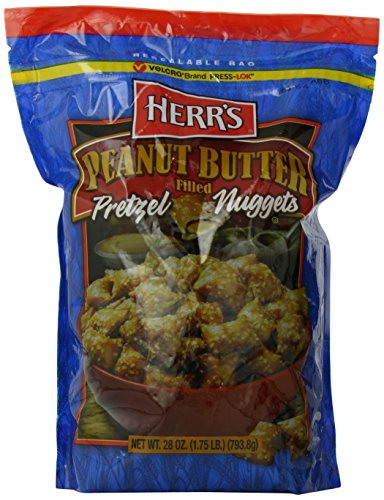 - Herr's Peanut Butter Filled Pretzels, 28 Ounce