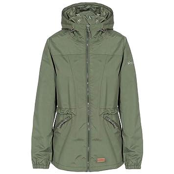bf2a96b95 Trespass Women's Cruella Waterproof Rain/Outdoor Jacket with Hood