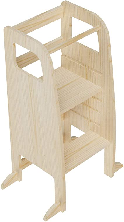 Montessori Learning Stand Helper Stand Learning Stand Adjustable Height Kitchen Helper Stand Helper Tower
