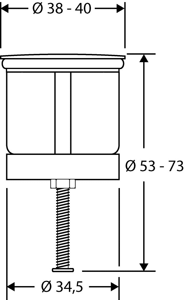 Großartig Waschbeckenstöpsel Design Strand | Abfluss-Stopfen aus Metall  ZG81