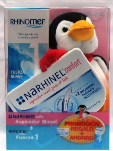 Rhinomer 1 + Narhinel Sacamocos + Pingüino: Amazon.es: Bebé