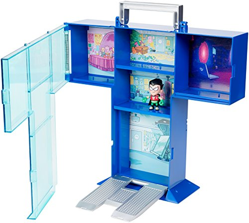 Teen Titans Go! Tower Mini Figure Display Case with Mini Figure