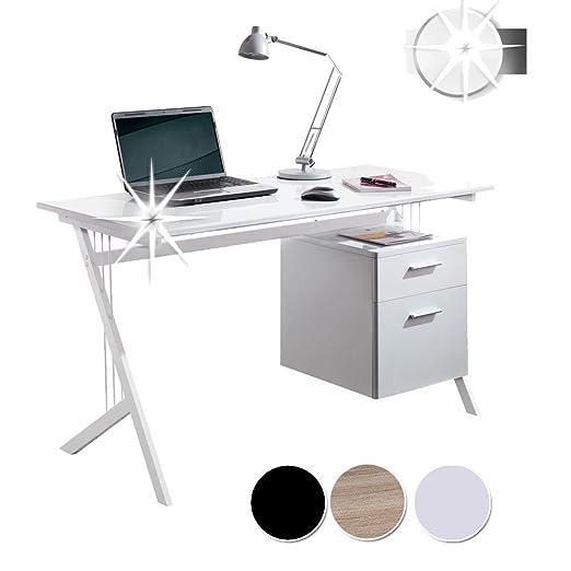 SixBros. Office CT-3365A/1128 - Escritorio de oficina: Amazon.es ...