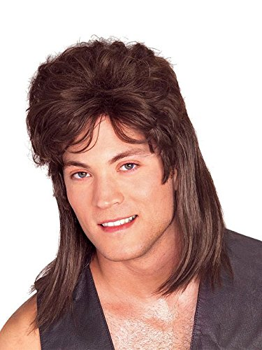Rubie's Brown Mullet Wig