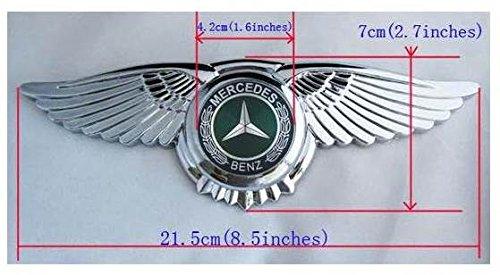 MERCEDES BENZ AMG Badge Emblem Eagle Wings 3D Car Logo ...