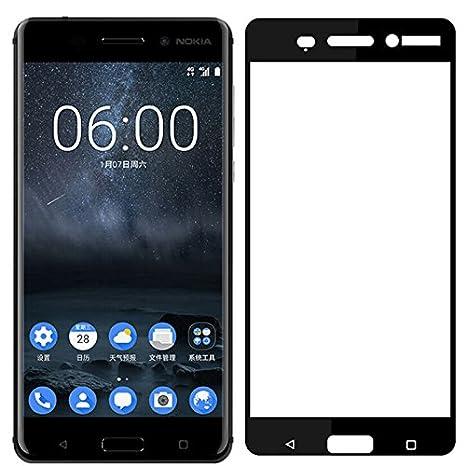 Nokia 3 4g Protection Décran Full Cover Noir En Verre Trempé