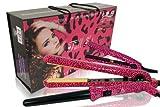 ISO Beauty full set Pink Leopard Hair Straightener + Hair Curler + Mini Straightener