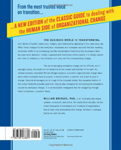 managing transitions making the most of change pdf