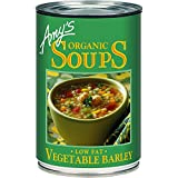 Low Fat Vegetable Barley Soup by Amy's Kitchen, 14.1 oz