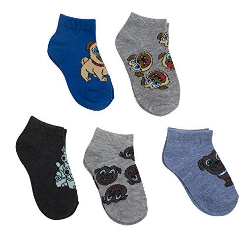 Disney Jr. Puppy Dog Pals Boys Socks 5 Pk
