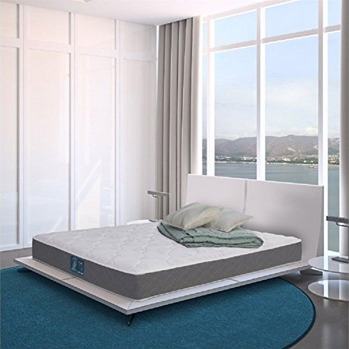 WOLF Corp Double Sided Reversible Ultra Firm, Wrapped coil innerspring mattress, Queen, Bed in a Box, Made in the USA