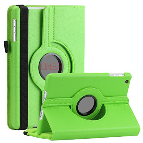 Price comparison product image New iPad 9.7 Inch 2017 / iPad Air 2 / iPad Air / iPad Pro 9.7 Case - VinYe Deep Groove 360 Leather Smart Case Stand Cover Auto Sleep / Wake Feature (iPad 9.7 2017 / Pro 9.7 / Air 2 / Air,  Green)