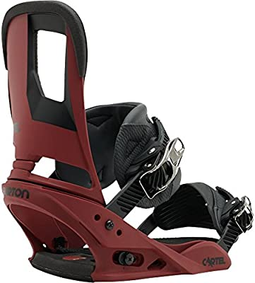 Burton Cartel Fijaciones de Snowboard para Hombre Rojo ...
