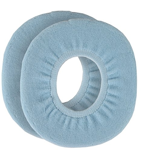 Home-X Snug and Warm Toilet Seat Cover. Blue (Set of 2)