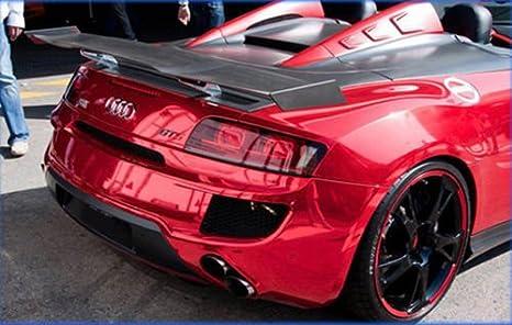 cromato Schermo Pellicola a Specchio Stretchable cromo rosso per applicazione 3d car wrapping
