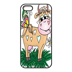 Custom Cow Back Cover Case for iphone5,5S JN5S-244