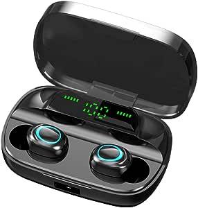Rayfit Mini Auriculares Bluetooth 5.0 Inalámbricos TWS Estéreo In Ear Auriculares Deportivos Micrófono Manos Libres con Caja de Carga Portátil Bluetooth Cascos para iPhone Samsung Huawei Android iOS: Amazon.es: Electrónica