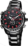 Naviforce Analog-Digital Black Dial Men's Watch-NF9093-BBR