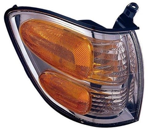 (Go-Parts » OE Replacement for 2001-2004 Toyota Sequoia Turn Signal Light Assembly/Lens Cover - Front Right (Passenger) Side 81510-0C020 TO2531143)