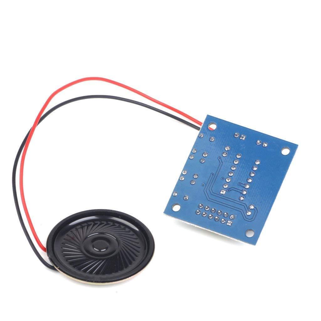 TrifyCore M/ódulo de grabaci/ón de grabaci/ón con Sonido de micr/ófono ISD1820 Altavoz