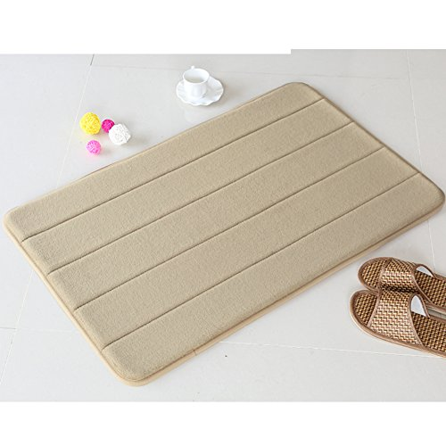Bathroom mats/foot pad/toilet/bathroom door mats/non-slip suction bath mat-A 140x200cm(55x79inch) by DUSPLOT