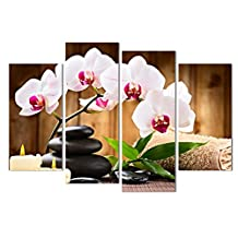 Printed oil paintings landscape printing flowers print Art Wall Decorative Canvas Print Set Of 4(no frame) canvas painting 30x80cmx2(12*32inch) 30x60cmx2(12*24inch)SKY-NO9