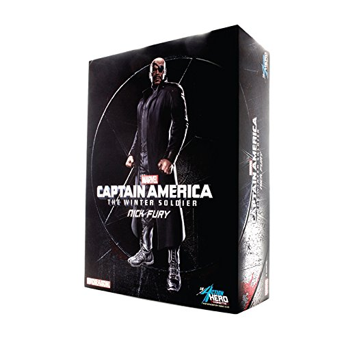 1 9 Action Hero Vignette Series Nick Fury (Plastic Model kit Painted) (Japan Import)