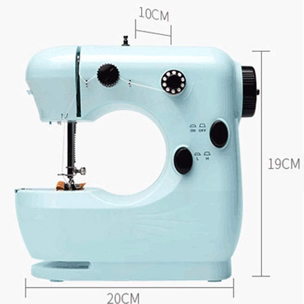 QHJ Mini máquina de coser eléctrica portátil para el hogar ...