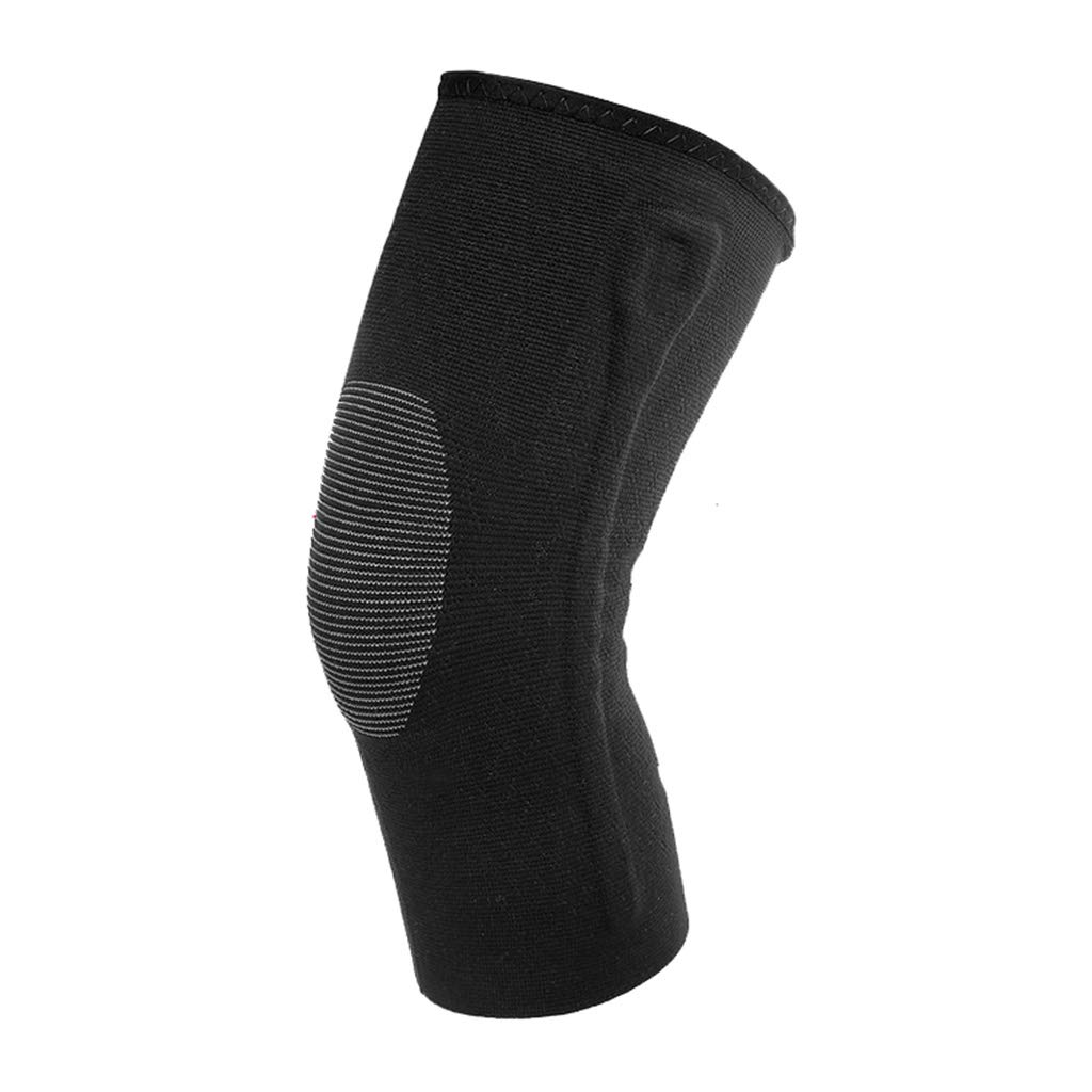 HQCC Sports Knee Pads Outdoor Adventure Hiking Running Basketball Special Knee Spring Decompression Protective Gear/L / Weight 68-90kg (Size : S)