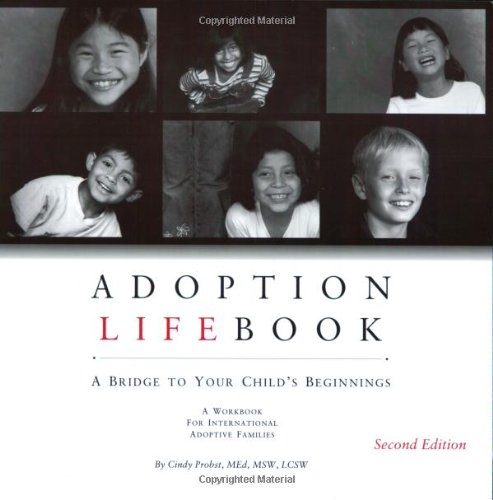 Adoption Lifebook: A Bridge to Your Child's Beginnings -