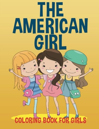 American Girl Coloring Book Girls
