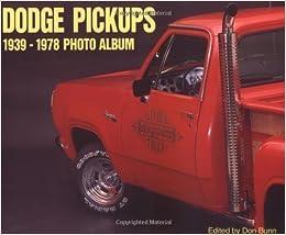 Book Dodge Pickups 1939-1978 Photo Album (1998-04-30)