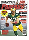 ATHLON SPORTS FANTASY FOOTBALL, ISSUE, 2012 (AMERICA'S PREMIER SPORTS PUBLISHER)