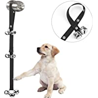 Luckyiren Upgraded Puppy Bells Dog Doorbells for Door Knob/Potty Training/Go Outside-Dog Bells…