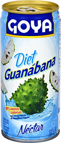Goya Foods Diet Guanabana Nectar, 9.6 Ounce (Pack of 24)