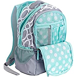 """CPP Studio C Backpack ~ Mint Green (One Hip Chick; Holds Most 15"""" Laptops)"""