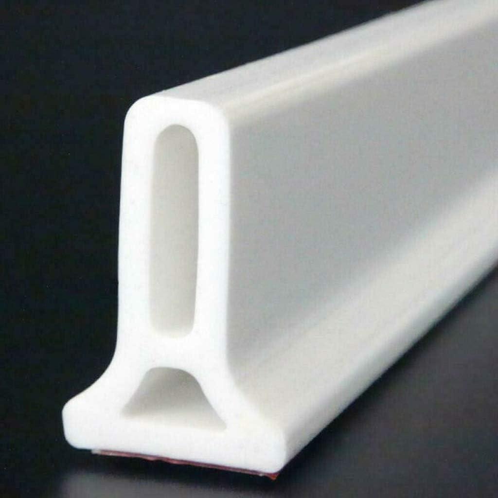 Adoture - Barrera de ducha y sistema de retención de agua para el umbral de ducha plegable y mantiene el agua dentro del umbral